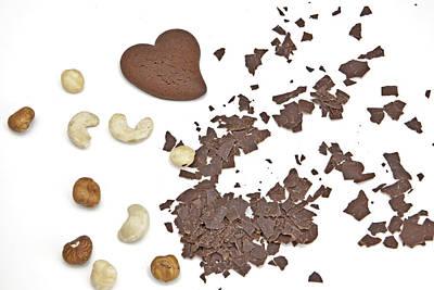 Chocolate Heart Art Print by Joana Kruse