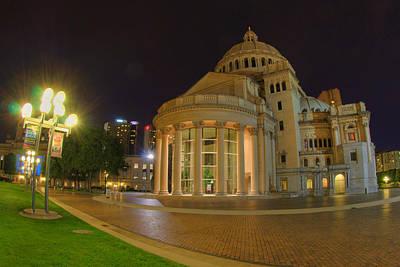 Boston Photograph - Christian Science Center-boston by Joann Vitali