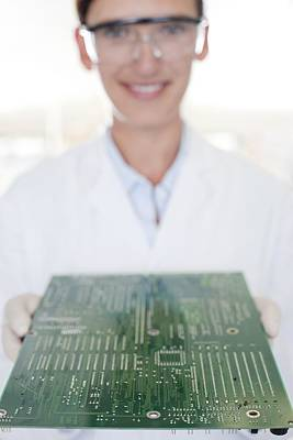 Microchip Photograph - Circuit Board Manufacture by
