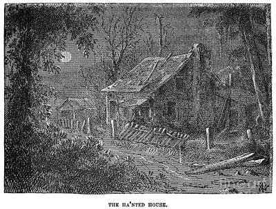 Haunted Shack Photograph - Clemens: Tom Sawyer by Granger