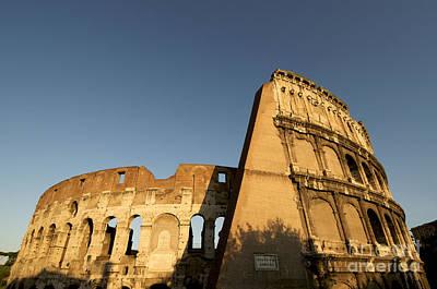 Sight Seeing Photograph - Coliseum. Rome by Bernard Jaubert