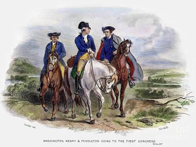 Continental Congress, 1774 Art Print