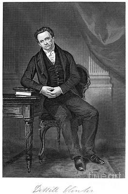Alonzo Photograph - Dewitt Clinton (1769-1828) by Granger