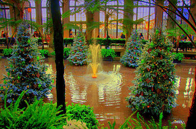 Dupont Gardens Art Print by Aron Chervin
