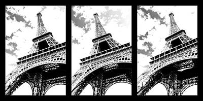 Photograph - Eiffel Tower by Elena Elisseeva