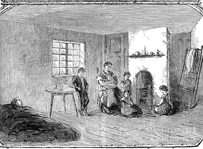 Manchester Mill Photograph - England: Cotton Famine by Granger