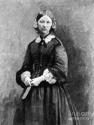 Florence Nightingale, English Nurse Art Print by Science Source