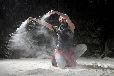 Flour Dancer Series Art Print by Cindy Singleton