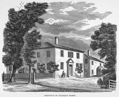Franklin Pierce Art Print by Granger