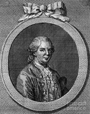 Moire Photograph - Franz Mesmer, German Physician by Science Source