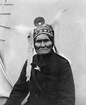 Geronimo 1829-1909, Chiricahua Apache Art Print by Everett