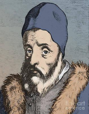 1576 Photograph - Girolamo Cardano, Italian Mathematician by Science Source
