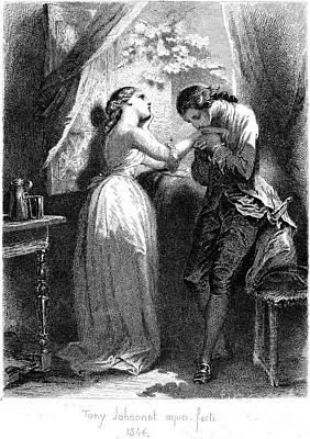 Goethe: Werther Art Print by Granger