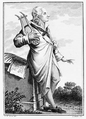 Gotthold Ephraim Lessing Art Print by Granger