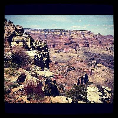 Color Contrast Wall Art - Photograph - Grand Canyon by Isabel Poulin