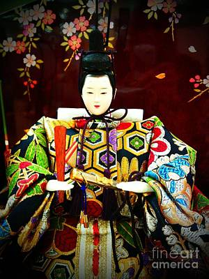 Photograph - Hina Doll by Eena Bo