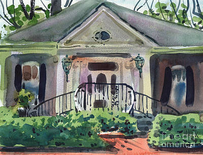 Painting - Hiram Butler House by Donald Maier