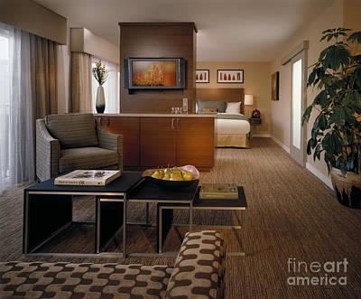 Mid Century Furniture Photograph - Hotel Room by Robert Pisano