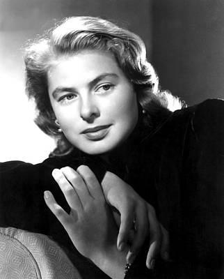 Ingrid Bergman, Portrait Art Print by Everett