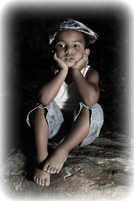Photograph - Innocent Boy by Sheila Kay McIntyre