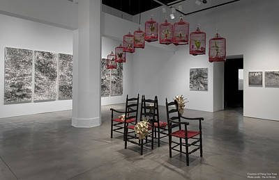 Deng Guo Yuan Mixed Media - Installation View by Deng Guo Yuan