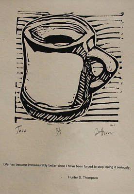 Drawing - Java by William Cauthern