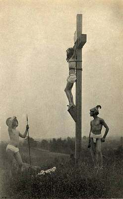 Platinum Photograph - Jesus Christ, The Crucifixion by Everett