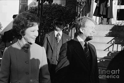 Inauguration Day Photograph - Jimmy Carter (1924- ) by Granger