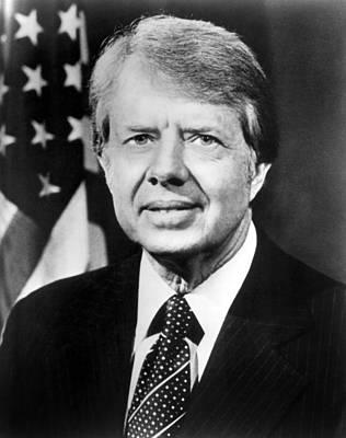 President Carter Photograph - Jimmy Carter by Everett