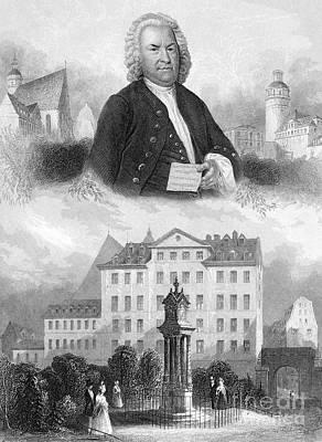 Johann Sebastian Bach Art Print by Granger