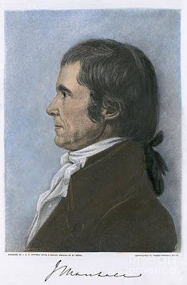 John Marshall (1755-1835) Art Print by Granger