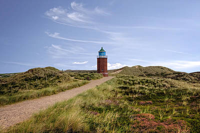 Red Cliff Photograph - Kampen - Sylt by Joana Kruse