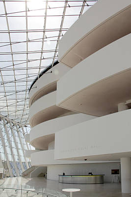 Abstract Buildings Photograph - Kauffman Center For Performing Arts by Mike McGlothlen