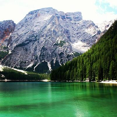 Landscapes Wall Art - Photograph - Lago Di Braies by Luisa Azzolini