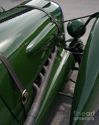 Photograph - Lagonda Old Car by Jorgen Norgaard