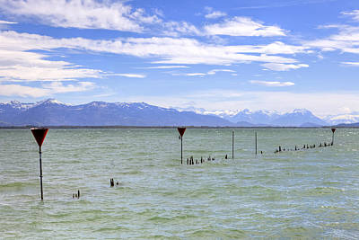 Mountain View Photograph - Lake Constance by Joana Kruse
