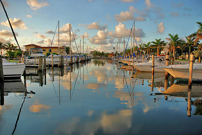 Photograph - 4- Lake Park Marina by Joseph Keane