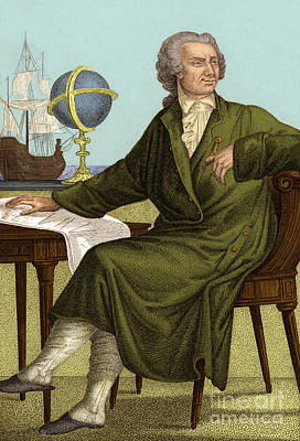 Photograph - Leonhard Euler by Science Source