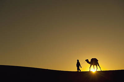 Merzouga, Morocco Art Print by Axiom Photographic