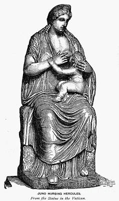 Hera Photograph - Mythology: Hera/juno by Granger