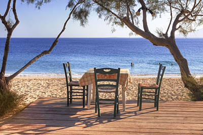Plaka Photograph - Naxos - Cyclades - Greece by Joana Kruse