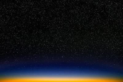 Night Sky Print by David Nunuk