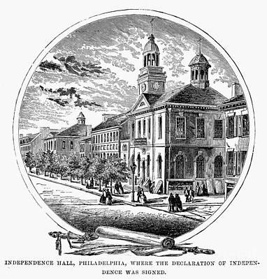 Philadelphia State House Art Print by Granger