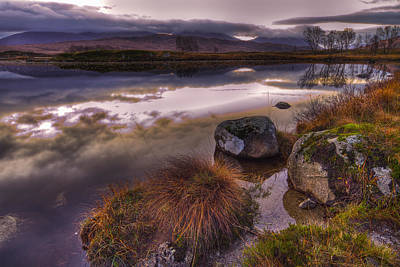 Rannoch Moor Glencoe Scotland Art Print
