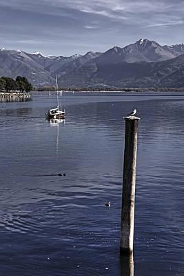 Switzerland Photograph - Sailing Boat by Joana Kruse