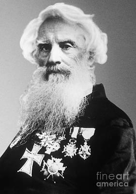 Samuel Morse, American Inventor Art Print by Science Source