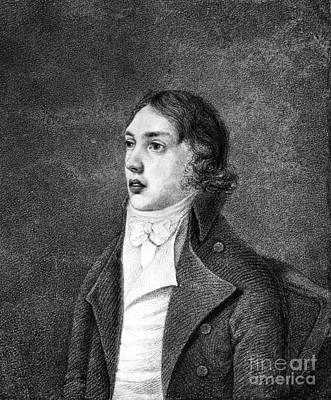 Lapel Photograph - Samuel Taylor Coleridge by Granger