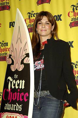 Teen Choice Awards Photograph - Sandra Bullock In The Press Room by Everett