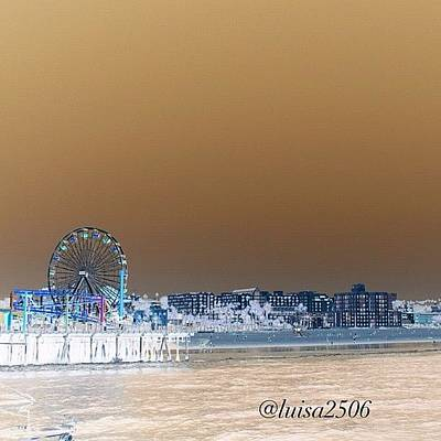 Cool Photograph - Santa Monica by Luisa Azzolini