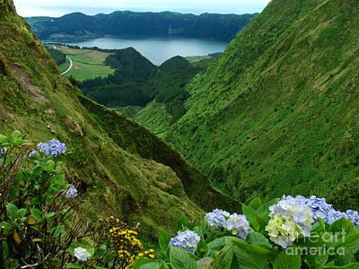 Sete Photograph - Sete Cidades - Azores by Gaspar Avila